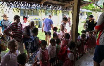 Takitumu preschool children tour The Esther Honey Foundation