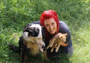 veterinary nurse Kate Opitz