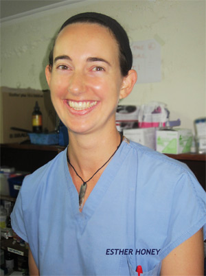 Australian veterinarian Michelle Gray
