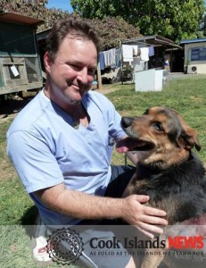 Esther Honey's practice manager Carl Hartnett will be leading the foundation's canine census.